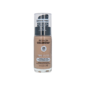 Colorstay Foundation With Pump - 180 Sand Beige (Dry Skin)