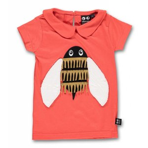 ubang Ubang - rode T-shirt met bij