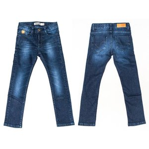 Stones and bones Broek 'five' blue denim