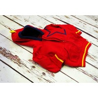 Blade and Rose Hoodie 'red star'
