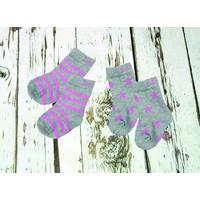 Blade and Rose Kousjes 'grey & pink'