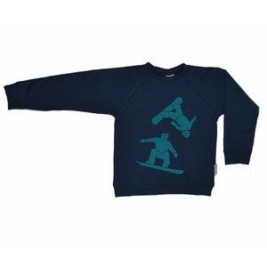 Baba-Babywear Sweater 'snowboard'