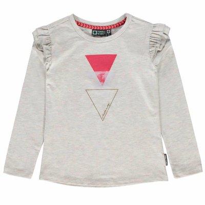 Tumble 'n dry Bleke longsleeve met driehoeken