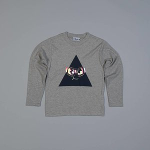 Shapes of things Longsleeve 'dude on the slopes'