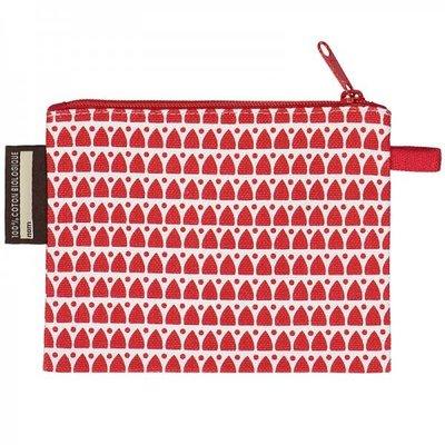 Coq en pâte Leuke rode portemonnee met opdruk van een giraf