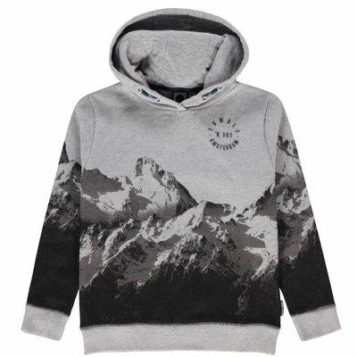 Tumble 'n dry Grijze sweater met bergen 'olov'