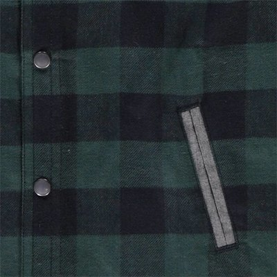 Tumble 'n dry Groen geruit hemdje 'Outse'