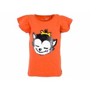 Stones and bones T-shirt Leopard 'kitten'