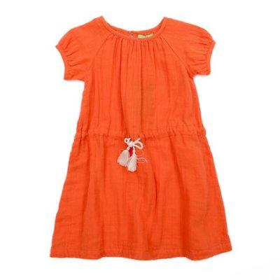 Lily Balou Oranje luci dress