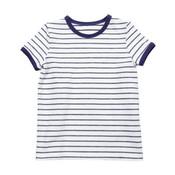 Lily Balou Wit- blauw gestreepte Billie T-shirt