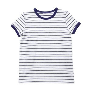 Lily Balou Billie T-shirt 'striped gentian blue'