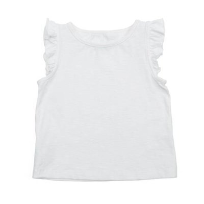 Lily Balou Eline top 'wit'