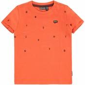 Tumble 'n dry Oranje T-shirt met kevers 'delhi'
