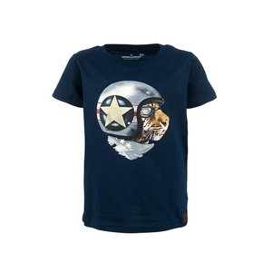 Stones and bones T-shirt 'russell'  'race tiger'