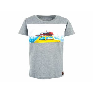 Stones and bones T-shirt 'russell' beachy