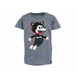 Stones and bones T-shirt 'russell'  wolf