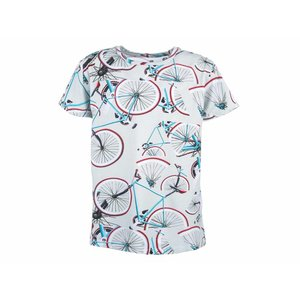 Stones and bones T-shirt oscar 'bikes'