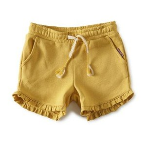 little label Sweatshort 'yellow gold'