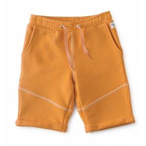 little label Sweat short orange