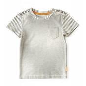 little label Gestreepte T-shirt met borstzakje