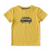 little label Okergele T-shirt 'beach time'