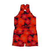Baba-Babywear Jumpshort 'Maité' met alloverprint van bloemen