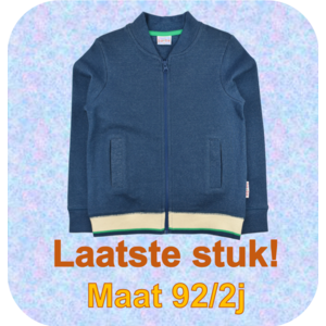 Baba-Babywear Bomber jacket 'jacquard blue'