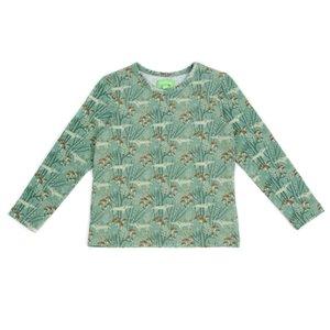 Lily Balou Florian T-shirt 'wolves green'