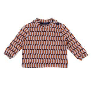 Lily Balou Baby shirt Francis 'blocks blue'