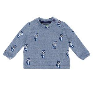 Lily Balou Baby shirt Francis 'raccoons'