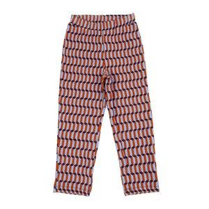 Lily Balou August trousers 'blocks blue'