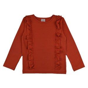 Baba-Babywear Ruffle shirt 'red'