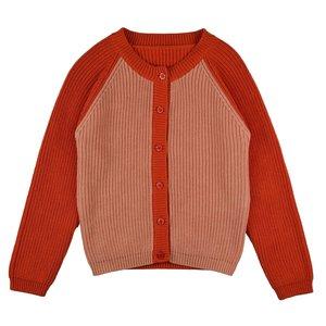 Baba-Babywear Cardigan 'red/pink'