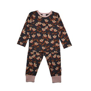 Baba-Babywear Pyjama 'pink flower'
