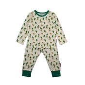 Baba-Babywear Beige pyjama met beren