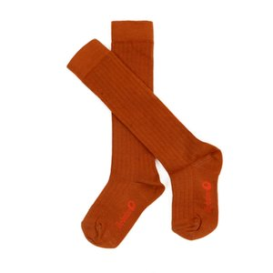 Lily Balou Jordan knee socks 'biscuit brown'