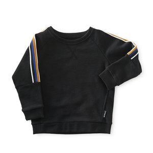 little label Sweater met gekleurde mouwbies