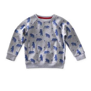 little label sweater 'bear'