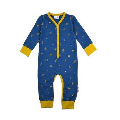 Baba-Babywear kruippakje met ruimtefiguren