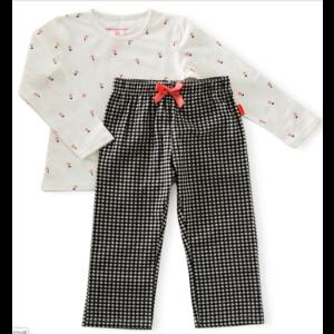 little label Pyjama met bloemetjes
