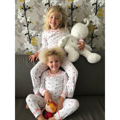 little label Pyjama met gekleurde ijsjes