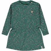 Tumble 'n dry Groen kleedje 'Jira' met luipaardprint