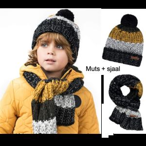 Tumble 'n dry muts en sjaal kleurtjes