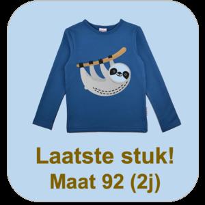 Baba-Babywear Longsleeve blue 'slot'