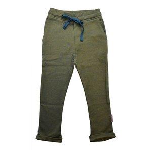 Baba-Babywear Baggy pant 'bicolor blue picqué'