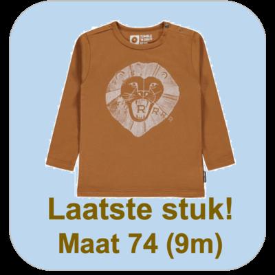 Tumble 'n dry Oker longsleeve 'Silas' met leeuw