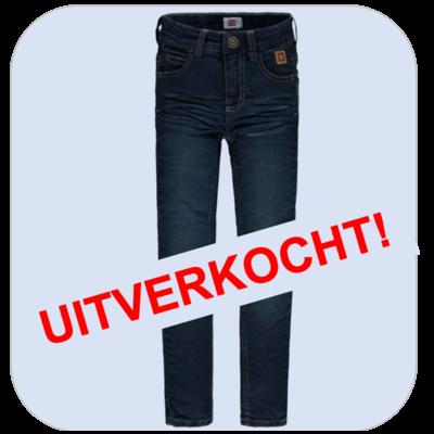 Tumble 'n dry Blauwe jeans met afgewassen look