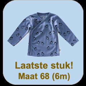 little label Overslagtruitje 'pinguin'