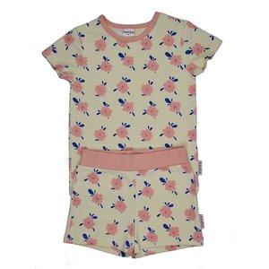 Baba-Babywear Pyjama 'flowers'