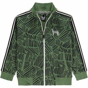 Tumble 'n dry Vest 'Wonra' met jungleprint
